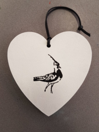 Hearts with lapwing