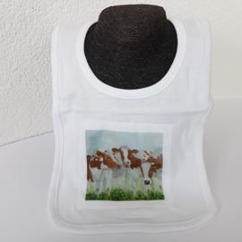 Roodbont koeien slabbetje