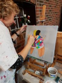 Resultaten november 2019 workshop schilderen op locatie