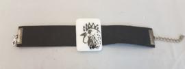 Armband met haan