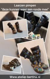 Unieke beschilderde schoenen