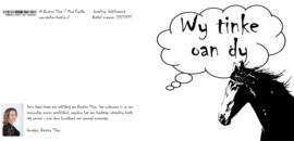 wenskaart: Wy tinke oan dy