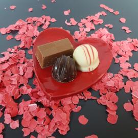 Valentijds harten schaaltje klein