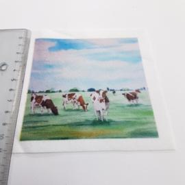 Koe stofje 10 cm