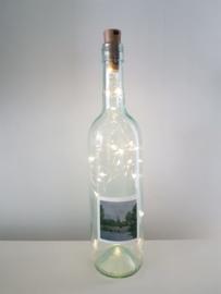 flessen lamp met led verlichting (Raalte)
