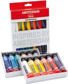 12 x 20ml Acrylverf Amsterdam