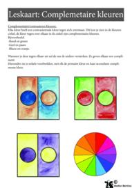 Stap voor stap tutorial: Complimentaire kleuren met aquarelverf