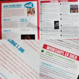 Resultaten: WAK  Zaterdag 2 juni 2018 workshop schilderen in Raalte Waag 10