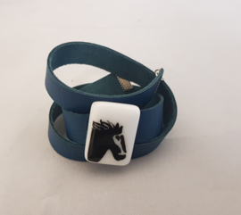 Bracelets with a cow, horse, etc.