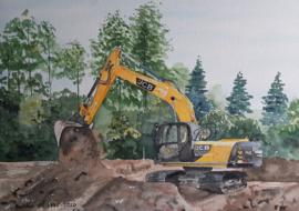 in opdracht: Berkhof schilderij