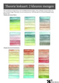 Stap voor stap tutorial: Kleur kaarten maken met aquarelverf
