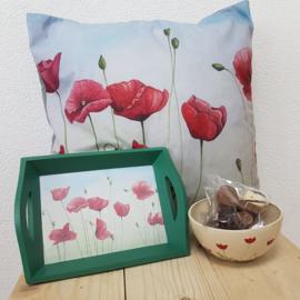 Klaprozen bloemen geschenken pakket