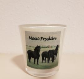 Sfeerlichtje 3 friese paarden (Moai Fryslân)