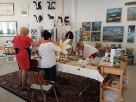 Resultaten: 21 april 2018 vriendinnen schilder workshop met catering
