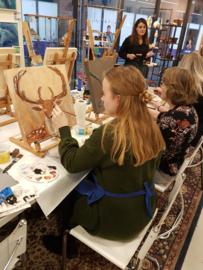 Resultaten 17 november workshop 2019 schilderen in Raalte Waag 10