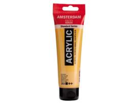 253 goudgeel Acrylverf Amsterdam