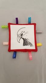 labeldoekje roofvogel