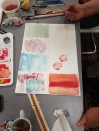 Cursus: Aquarel of acryl schilderen