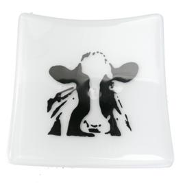 Glazen koeien schaaltjes  glasfusion