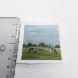Koe stofje 5 cm