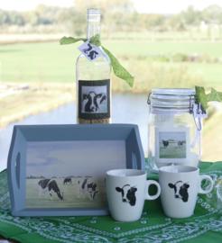 Koeien geschenken/cadeau  pakket (ook voor kerst)