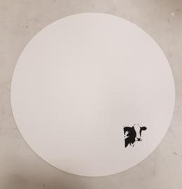 Placemat rond met koe