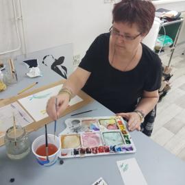 Zaterdag 16 oktober 2021: workshop aquarel schilderen (op papier) in Raalte