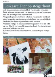Les: dier op steigerhout schilderen