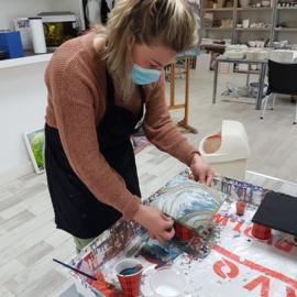 resultaten zaterdag mei 2021:  Acryl gieten in Raalte