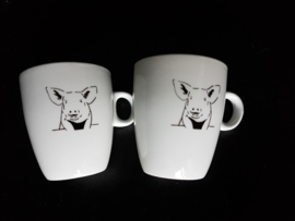 Koffie mokje varken (senso)