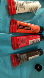 Resultaten: Thuis workshop: acryl gieten op beeldje