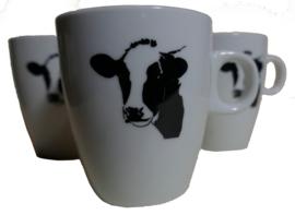 Koffie mokje koe (senseo) met uw eigen logo of naam erop