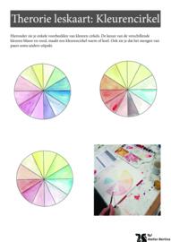Stap voor stap tutorial: Kleurencirkel maken met aquarelverf
