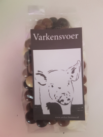Chocopinda's: varkensvoer