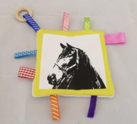 labeldoekje van een paard