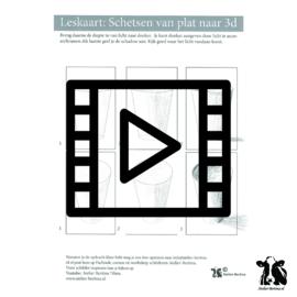 les live /tutorial schetsen: Elips schaduw aanbrengen