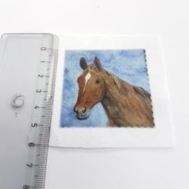 Paard stofje 5 cm