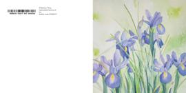 Iris wenskaart