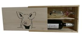 Cadeau geschenken pakket varkens