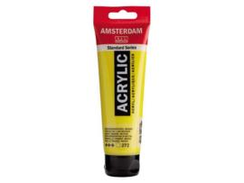 272 transparant geel middel Acrylverf Amsterdam