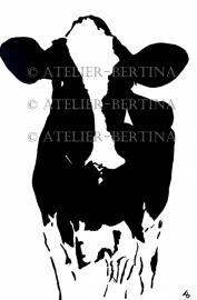 Kühe Acrylmalerei