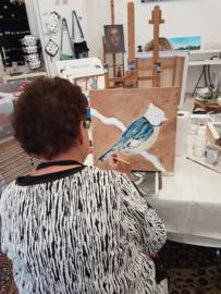 Resultaten: Zaterdag 4 mei 2019 workshop schilderen in Raalte Waag 10