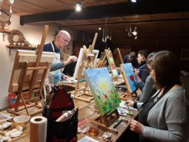 Resultaten: 11 maart 2020 schilderen in Collendoorn