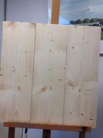 steigerhout 40 x 40 cm