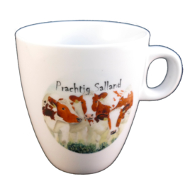 Koffie mokje Roodbont koe Prachtig Salland (senseo)