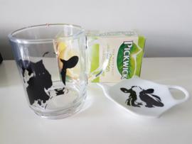 Thee momentje voor 1: koe, geschenken/cadeau  pakket