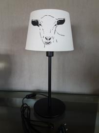 Geit lamp met ronde poot