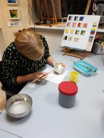 Thuis workshop: boetseren glazuren