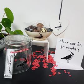 Kievit liefde cadeau: Mens wat ben je prachtig