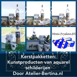 Cadeau geschenken pakket Moai Fryslân